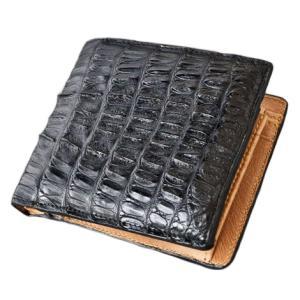 GODANE  ゴダン 短財布 クロコダイル二つ折り財布 メンズ  spcw8009cp あすつく対応 送料無料|zumi