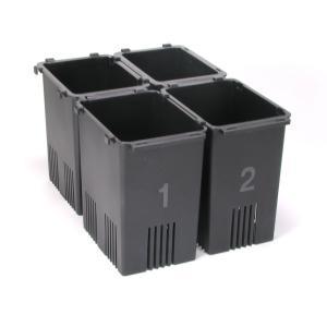 備長炭入り 野菜スタンド 菜鮮箱4個組 冷蔵庫用野菜収納ケース 菜鮮箱 野菜ストッカー キッチン 冷蔵庫用品 まとめ買いにオススメ|zumi