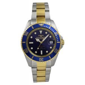 テクノス TECHNOS 自動巻き回転ベゼル メンズウオッチ 腕時計 T4248TN【ポイント5倍!】|zumi