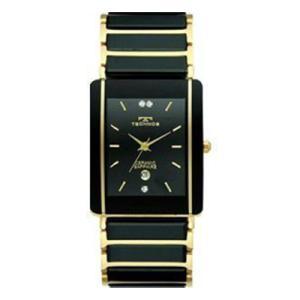 正規品 テクノスTECHNOS 薄型 軽量 セラミックスリム 腕時計 メンズ TAM530GB|zumi