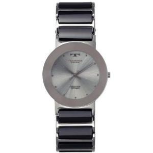 【ポイント2倍!】 テクノスTECHNOS 薄型 軽量 セラミックスリム メンズ 腕時計TBM674TS 正規品|zumi