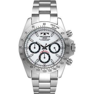 【ポイント2倍!】テクノス TECHNOS 腕時計 メンズ クロノグラフ TGM615SW 正規品|zumi