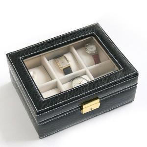 腕時計収納ケース 6本収納タイプ 時計ケース 【平日15時まであすつく】 zumi
