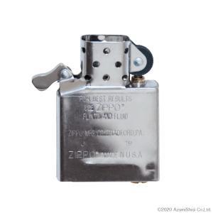 ZIPPO インサイドユニット レギュラーサイズ インナー ライター 中身 予備 交換用 シルバー|zumi