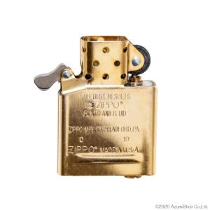 ZIPPO インサイドユニットゴールド レギュラーサイズ インナー ライター 中身 予備 交換用|zumi