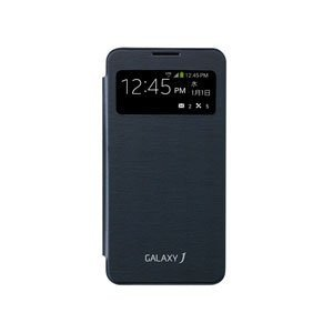 I・O DATA GALAXY J用[サムスン純正] Sビューカバー (ブラック) EF-CN075...