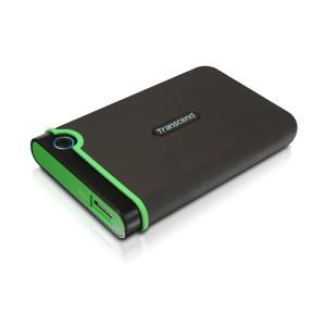 Transcend USB3.0/2.0 2.5インチHDD ポータブルハードディスク 耐衝撃 M3...