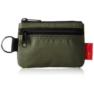 [ノーマディック] 財布 小銭入れ 2段ファスナー財布 WA-12 カーキ