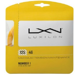 ウイルソン テニス アクセサリー ルキシロン LUXILON テニスガット 4G 125 SET W...
