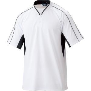 アシックス  プラクティスシャツ ベースボールシャツ BAD007 0190【スグに使えるクーポンあります!】|zyuen1