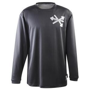 BIKE バイク ユニセックス バスケットボール トレーニング ロング プラクティス Tシャツ BK...
