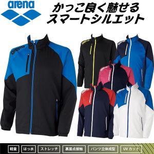 【期間中のお買い得!】●アリーナ クロスジャケット フィットシルエット プールサイドウェア ARN-4300|zyuen