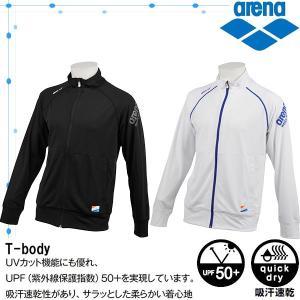 ◎アリーナ メンズ T−BODY ZIPジャケット ASN-8433|zyuen