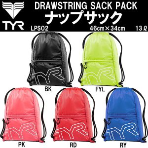 ●TYR(ティア) DRAWSTRING SACK PACK ナップサック LPSO2|zyuen