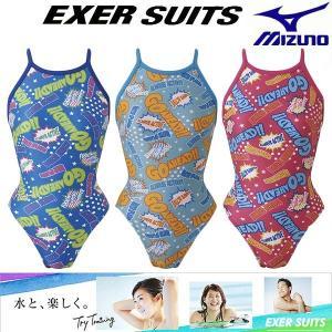 ◎☆18年春夏ミズノレディース競泳水着練習用N2MA8277