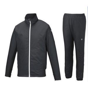 アシックス メンズ ウィンドジャケット&パンツ上下セット 裏起毛 中綿 XAW539 XAW639 90|zyuen