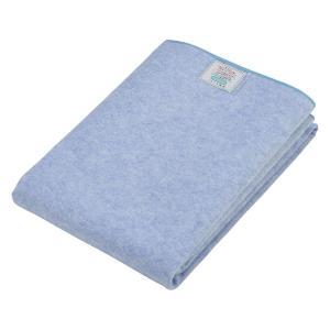 京都西川 寝具用除湿シート ブルー シングル