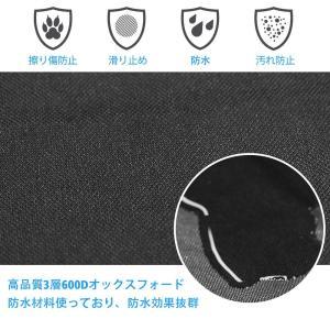 KYG ペット用ドライブシート 新型 トランクマット 多機能ノンスリップマット 犬 シートカバー ペ...