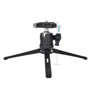 Ulanzi 卓上三脚 カメラ三脚 アルミ合金 ボールヘッド付き 三脚+雲台 Canon Nikon...