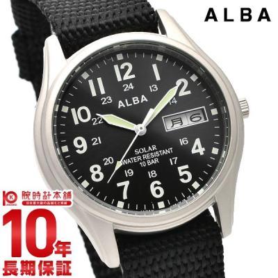 セイコー アルバ ALBA ソーラー 100m防水 A…