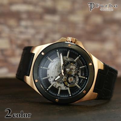 フルボデザイン 腕時計 Furbo F2501PBKB…