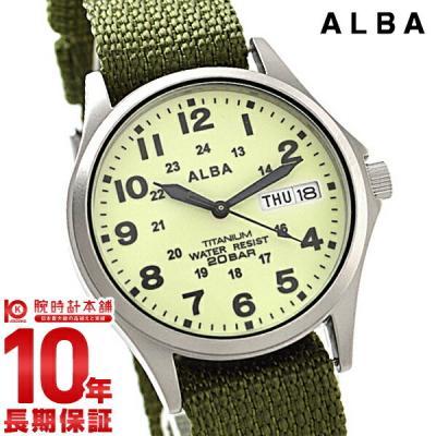 セイコー アルバ ALBA 20気圧防水 イエロー×カ…