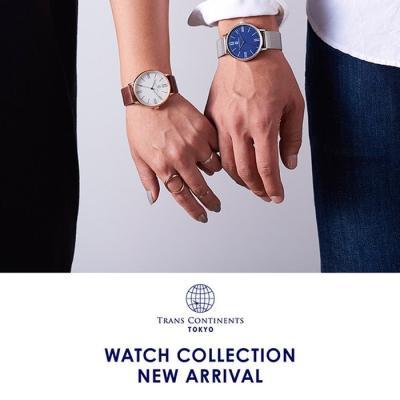トランスコンチネンツ 腕時計 メンズ レディース ペ…
