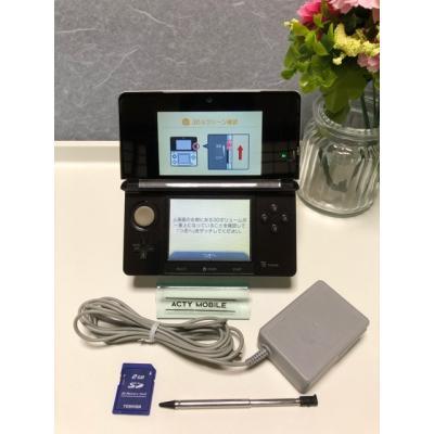 ニンテンドー3DS コスモブラックの商品画像