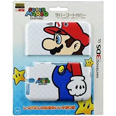 MSY ラバーコートカバー for 3DSLL マリオ MS-3DSL002Mの商品画像