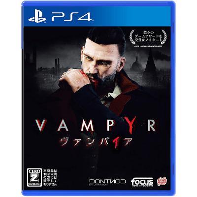 【PS4】 Vampyr ヴァンパイア [通常版]の商品画像