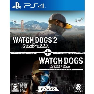 【PS4】 ウォッチドッグス1+2 ダブルパックの商品画像