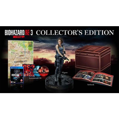 【PS4】 BIOHAZARD RE:3 Z Version [COLLECTOR S EDITION]の商品画像