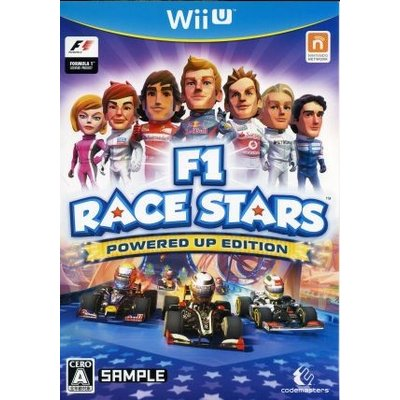 【Wii U】 F1 RACE STARS POWERED UP EDITIONの商品画像