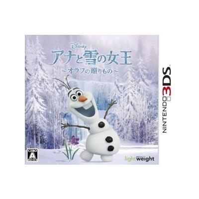 【3DS】 アナと雪の女王 オラフの贈り物の商品画像