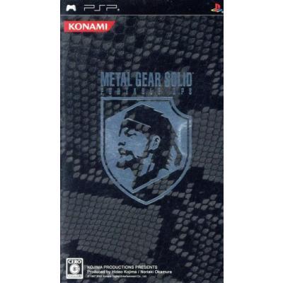 【PSP】 メタルギアソリッド ポータブル オプス プレミアムパック (PSPカモフラージュ同梱)の商品画像