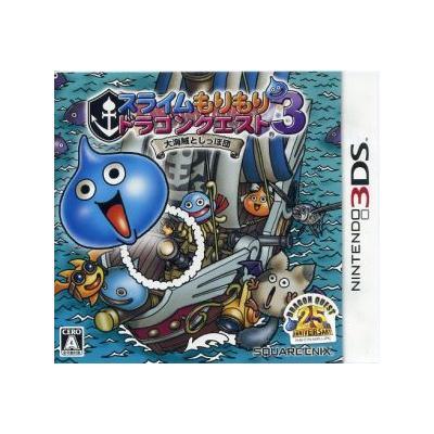 【3DS】 スライムもりもりドラゴンクエスト3 大海賊としっぽ団 [通常版]の商品画像