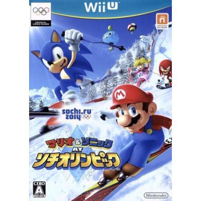 【Wii U】 マリオ&ソニック AT ソチオリンピックの商品画像