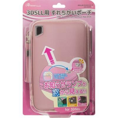 3DSLL用 すれちがいポーチ ピンク ANS-3D048PKの商品画像