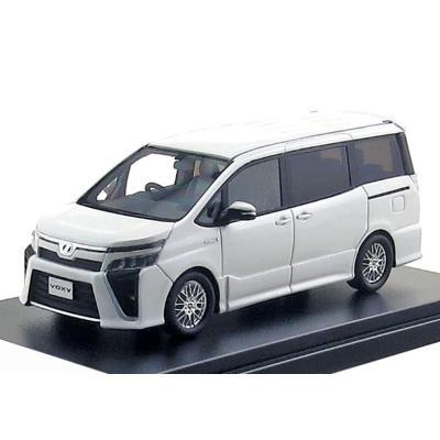 Toyota VOXY HYBRID ZS (2019) ホワイトパールクリスタルシャイン (1/43スケール Hi Story HS238WH)の商品画像