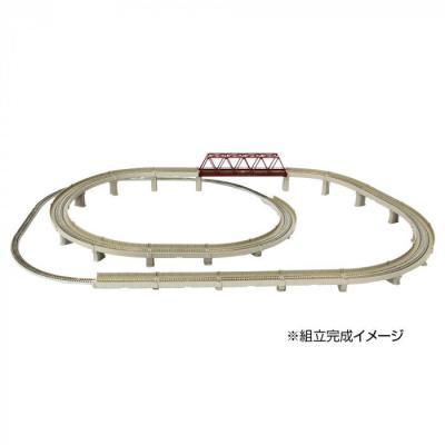 ロクハン レールセットD 単線立体交差セット R063の商品画像