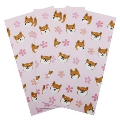 祝儀袋 3枚セット 金封 柴田さんの住む東京わさび町 さくらしりーず 74 柴犬 グッズ