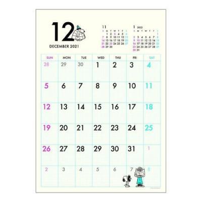 カレンダー 2022年 スヌーピー 壁掛け DAY STATION A3スケジュール ピーナッツ APJ キャラクター 書き込み 実用