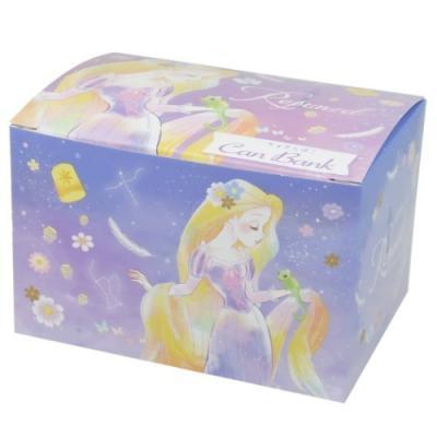 塔の上のラプンツェル 鍵付き タカラバコ 缶 バンク 貯金箱 ディズニープリンセス キャラクター グッズ