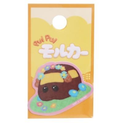 PUI PUI モルカー キャラクター ミニシール ダイカット イラスト ステッカー チョコはなかざり プイプイモルカー グッズ