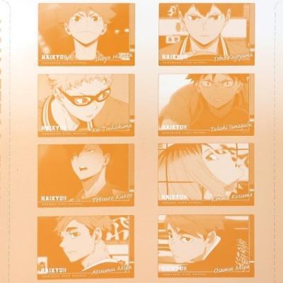 下敷き ハイキュー プラボード コレクション 少年ジャンプ 全8種 コレクション雑貨 アニメキャラクター