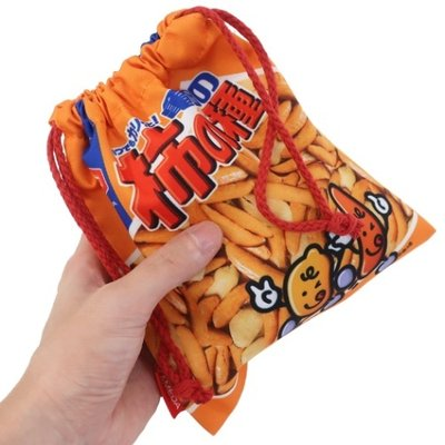 亀田製菓 柿の種 巾着袋 きんちゃくポーチ おやつマーケット 小物入れ キャラクター