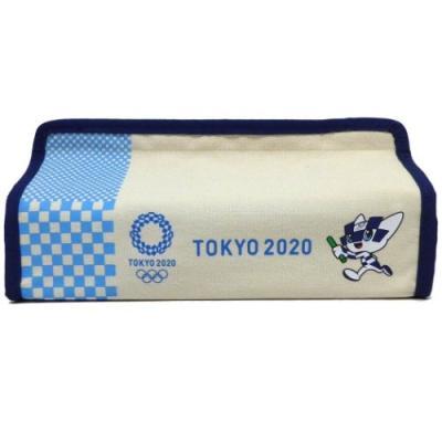 東京2020オリンピック スポーツ ティッシュケース ボックスティッシュカバー オリンピックマスコット ケイカンパニー