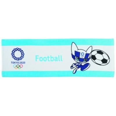 東京2020 オリンピック ジャーリング ロングタオル フェイスタオル サッカー ミライトワ スポーツ プレゼント