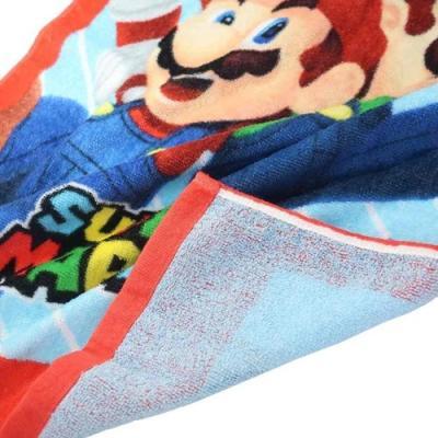 スーパーマリオ ジュニア バスタオル 子供用 プールタオル フレッシュメンバーズ キャラクター