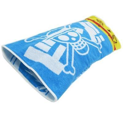 のびのびタオル まくらカバー ワンピース 大人用 枕カバー ONE PIECE ゴムゴムのピストル 丸眞 サマー寝具 抗菌防臭加工 グッズ